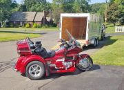 1999 Honda GL 1500 Gold Wing delivered to client in Connecticut